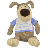 "Boofle Extra Special Grandson Large 11"" Sitting Plush Toy"