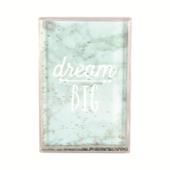 Dream Big Freestanding Glitter Photo Frame
