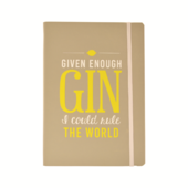 Gin O'clock Gin Rule The World Notebook