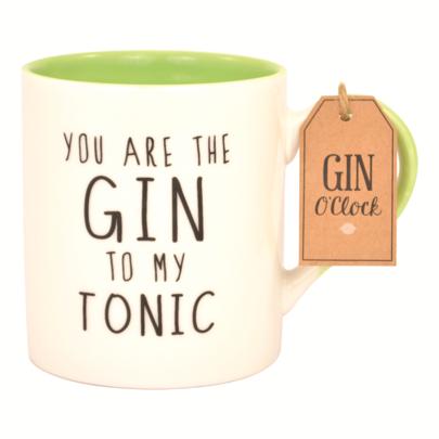Gin O'Clock You Are The Gin To My Tonic Mug