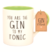 Gin O'Clock You Are The Gin To My Tonic Mug