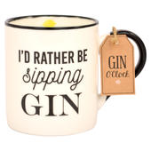 Gin O'Clock I'd Rather Be Sipping Gin Mug