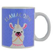 LLAMACORN 50% Llama 50% Unicorn Ceramic Mug