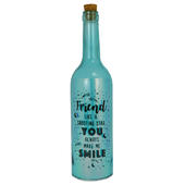 Friend You Make Me Smile Iridescent Light Up Bottle