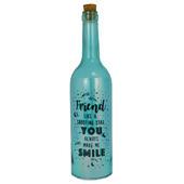 Friend You Make Me Smile Iridescent Light Up Bottle