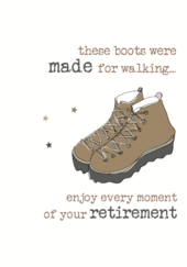 Retirement Sparkle Finished Greeting Card
