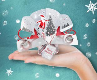 Petite Christmas Pop Ups