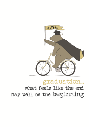 Graduation Congratulations Sparkle Finished Greeting Card