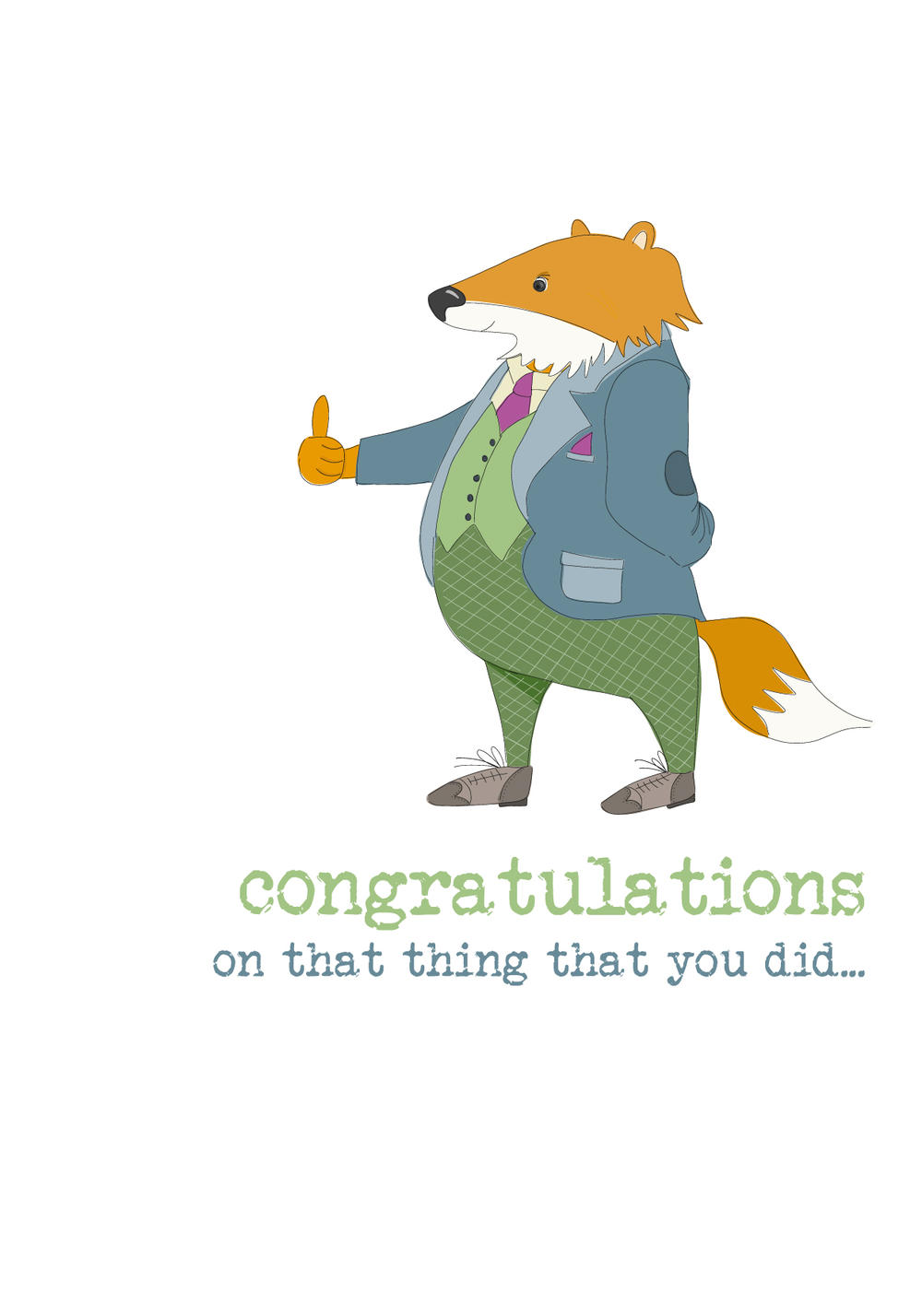 Congratulations Sparkle Finished Greeting Card