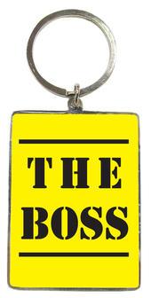The Boss Metallic Keyring
