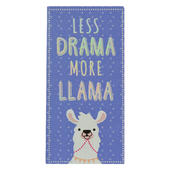 Less Drama More Llama Chocolate Bar & Card In One