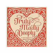 Studio Oh! Truly Madly Deeply Couple's Memory Journal