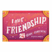 Studio Oh!  Love and Friendship Book of 24 Postcards