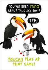 Toucan Play At That Game Birthday Funny Birthday Card