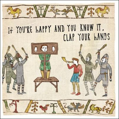 If You're Happy... Hysterical Heritage Greeting Card