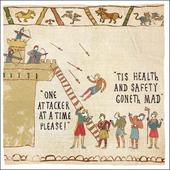 Health & Safety Hysterical Heritage Greeting Card