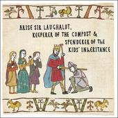 Sir Laughalot Hysterical Heritage Greeting Card