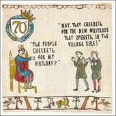 70th Birthday Hysterical Heritage Greeting Card