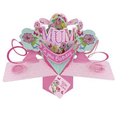 Mum Birthday Pop-Up Greeting Card
