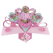 Mum Birthday Pop-Up Greeting Card