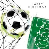 Football Happy Birthday Greeting Card