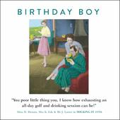 Milking It Funny Drama Queen Birthday Greeting Card