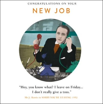 New Job Funny Drama Queen Greeting Card