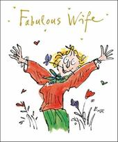 Quentin Blake Wife Birthday Greeting Card