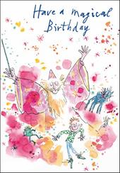 Quentin Blake Magical Birthday Greeting Card