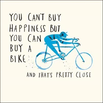 Buy A Bike Livin' It Birthday Greeting Card