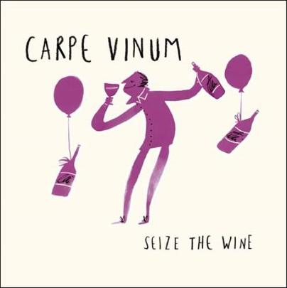 Seize The Wine Livin' It Birthday Greeting Card