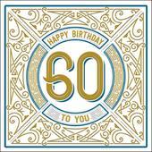 Happy 60th Birthday Odyssey Greeting Card