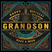 Grandson Happy Birthday Odyssey Greeting Card