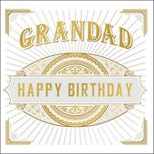 Grandad Happy Birthday Odyssey Greeting Card