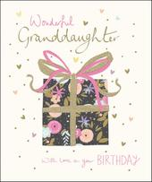 Granddaughter Happy Birthday Greeting Card