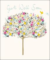 Get Well Soon Pretty Greeting Card
