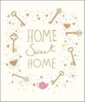 Home Sweet Home New Home Greeting Card