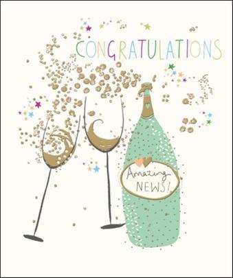 Congratulations Pretty Greeting Card