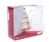 Box of 5 Glitter Tree Samaritans Charity Christmas Cards