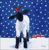 Pack of 5 Let It Snow British Heart Foundation Charity Christmas Cards