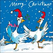 Pack of 5 Quentin Blake British Heart Foundation Charity Christmas Cards