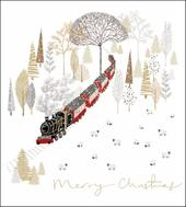 Pack of 5 Christmas  Journey Shelter & Crisis Charity Christmas Cards