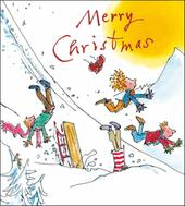 Pack of 5 Quentin Blake Alzheimer's Society Charity Christmas Cards