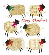 Pack of 5 Winter Woollies Alzheimer's Society Charity Christmas Cards