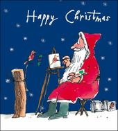 Pack of 5 Quentin Blake Marie Curie Charity Christmas Cards