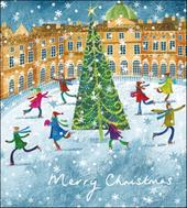 Pack of 5 Yuletide Fun Marie Curie Charity Christmas Cards
