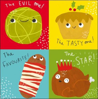 Pack of 5 Fun Christmas Samaritans Charity Christmas Cards
