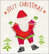 Pack of 5 Jolly Santa Action For Children Charity Christmas Cards
