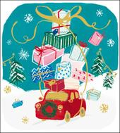 Pack of 5 Coming Home Action For Children Charity Christmas Cards