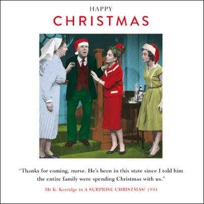 Family Christmas Funny Christmas Greeting Card